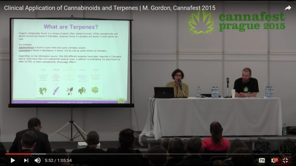 clinical applications cannabis terpenes